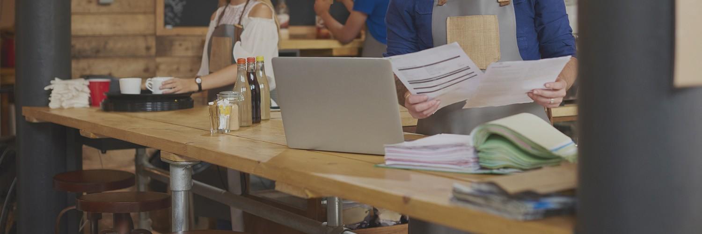 Coffee shop business bills