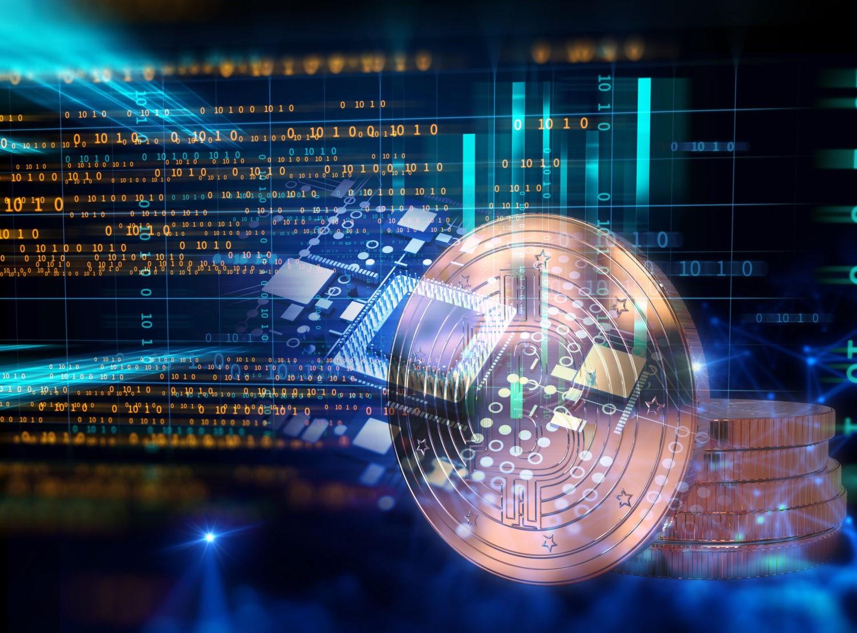 Crypto-Community - image of Bitcoin Blockchain