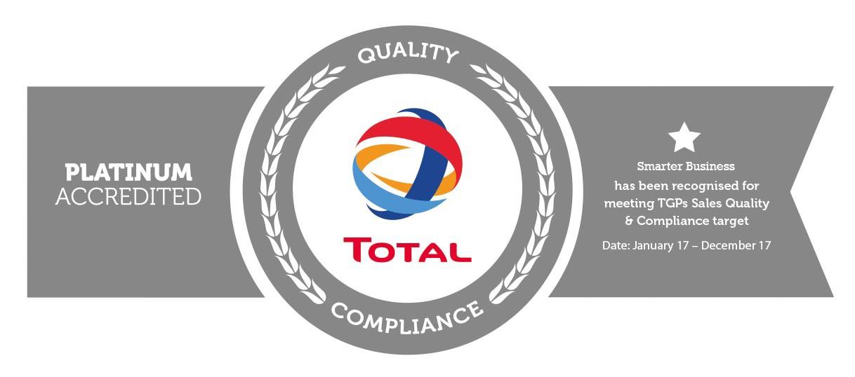 Smarter Business TGP Platinum Accreditation Badge