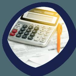 Calculator & Pen - business_finance