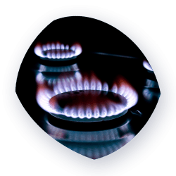 Gas stove burning - business_gas