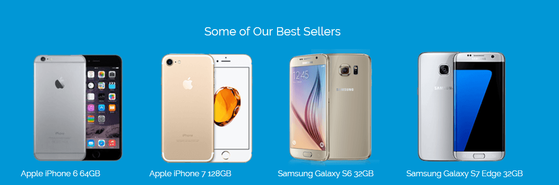 Sell Old Phones - Our bestsellers