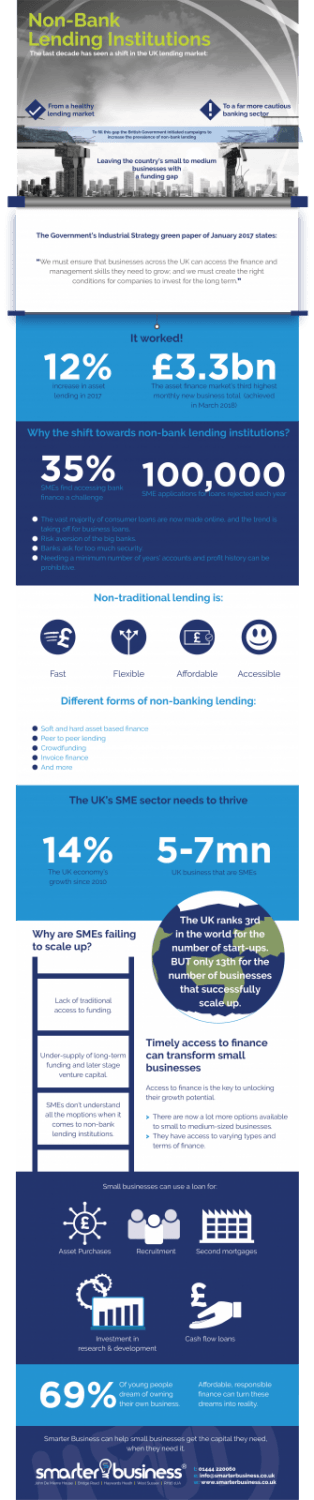 Infographic - Non-Bank Lending Institutions