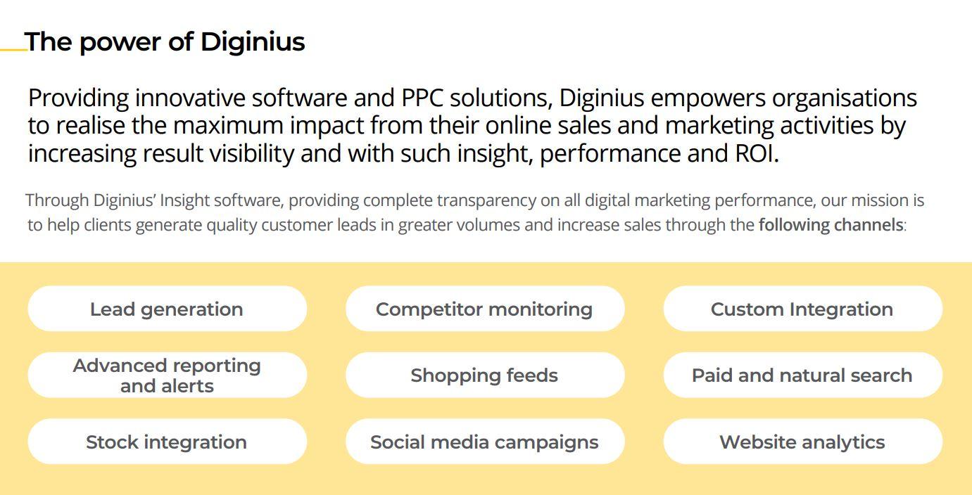 The power of Diginius